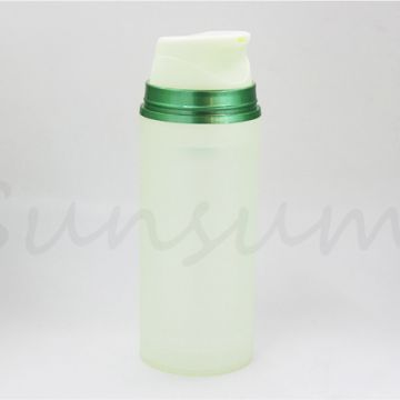 Set Cosmetic Airless Pump Color Matte Cream Bottle for Skin Care