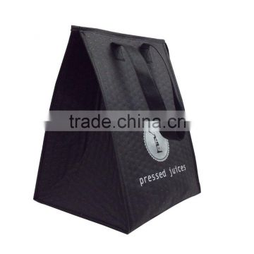 Good quality custom print reusable embossed non woven cooler bag