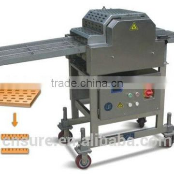 Meat Tenders Access to Flattening Machine
