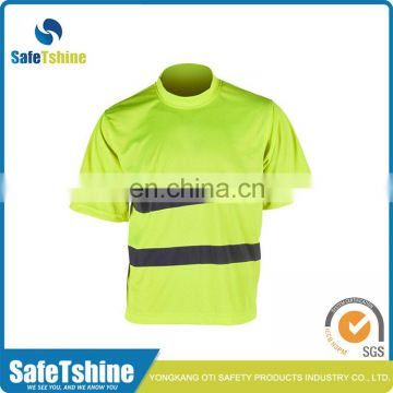 Good quanlity high visibility safety reflective cool cotton shirts for man