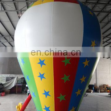cheap giant advertising Inflatable rooftop star ground balloon