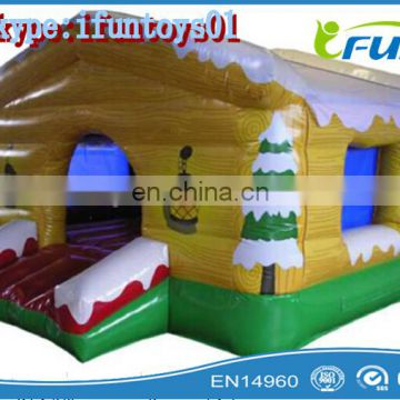 small inflatable santa grotto for christmas / mobile santa's grotto / inflatable santa's grotto for christmas