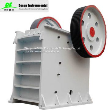 High quality rock jaw crusher 100T per hour