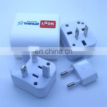 Combined travel adapter