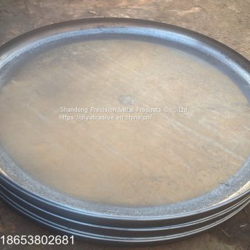 Large diameter thickness wall Boiler flat bottom heads with punch holes