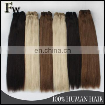 Factory delivery wholesale double drawn hair extensions,double drawn virgin hair,double drawn