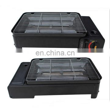 hot sales cool rolled steel and mini BBQ portable camping gas bbq with gas bbq