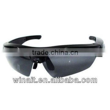 Hot Selling Stereo Type Bluetooth Sunglasses with MP3 Player Rechargeable Li Battery