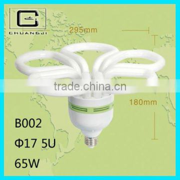 5U save your freight durable lowest price good quality super bright45w flower energy saving lamp