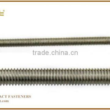 4.8 Grade zinc plated din975 and din976 thread rod, B8 Threaded rod B7 threaded rod stud bolt m14