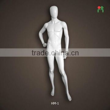 Fashion Design Fiberglass Male Mannequin For Display High End