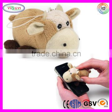 D617 Soft Cow Screen Cleaner Stuffed Animal Small Screen Cleaner