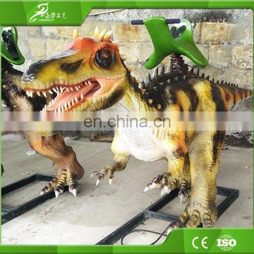 KAWAH Theme Park Electric Kids Ride Attractive Interactive Dinosaur Rides For Sale