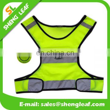 2017 best sports gear of Reflective Vest yellow, reflective running vest