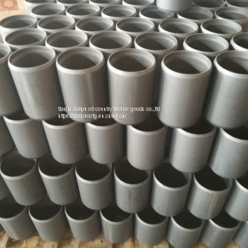 Coupling for OD3-1/2,tubing coupling,coupling stock,N80 coupling,left coupling,right coupling