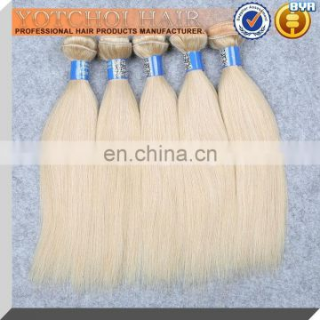 Wholesale 100% 8A Full Cuticle Virgin Remy Blond Indian Human Hair