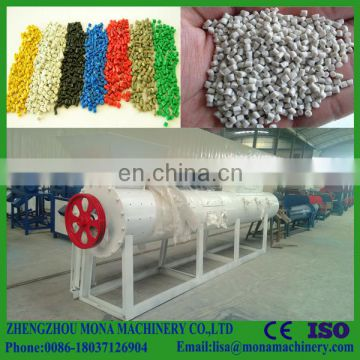 Woven bags waste plastic recycling pellet making machine bag recycled plastic granules extruder machine