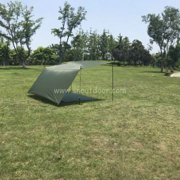 Tarp Tents For Backpacking Lightweight Polyester Outdoor Camping Equipment Sun Shelter