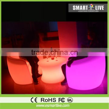 Colorful Led Light Sofa / Luxury Led Sofa /Lounge Bar Sofa