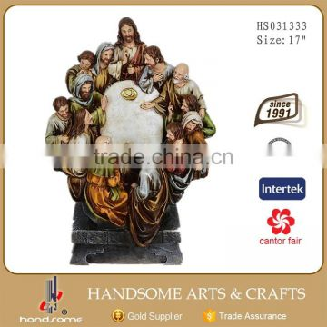 36 Inch Religious Items Christmas Gift Wall Hanging The Last Supper Sculpture
