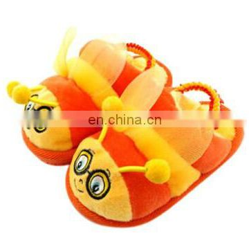 Children's colorful bee indoor slippers with high quality