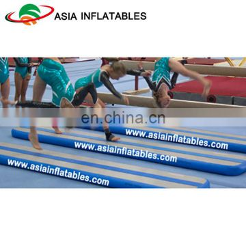 Dwf Tumble Track Inflatable Air Mat Inflatable Foam Balance Beam For Gymnastics