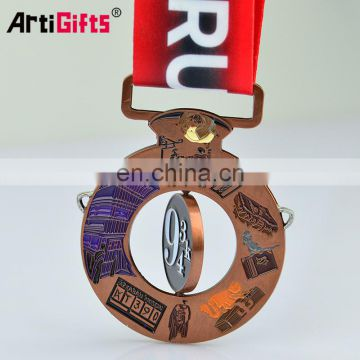 High quality bespoke medals with ribbon
