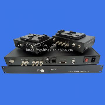 HD Video over Fiber Transceiver Specially for SONY Camera, HD-SDI, Intercom, Tally, Genlock etc