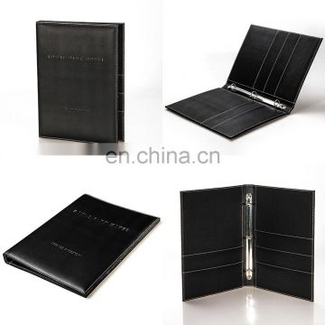 Good Quality China Supply A4 Menu Folder Luxury Leather Restaurant Menu Cover