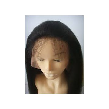 Russian  Chocolate Synthetic Hair 100% Remy Wigs 10inch Thick