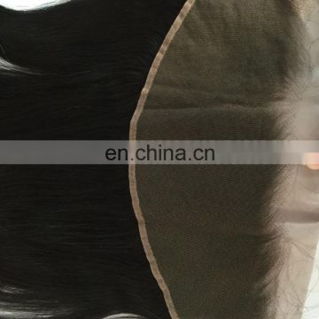 Raw burmese hair extention hair ear to ear lace frontal