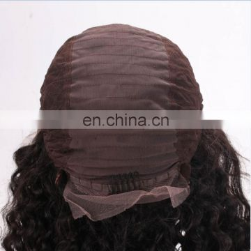 Best Selling High Quality Curly Virgin Brazilian Hair Lace Wig