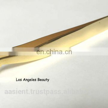 Russian Volume Eyelash Extensions Tweezers (Gold Plated)