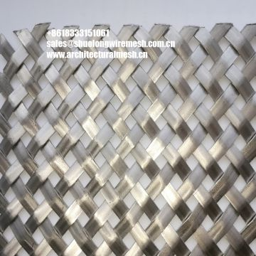 Flat Architectural Steel Mesh Wire Mesh for ceiling
