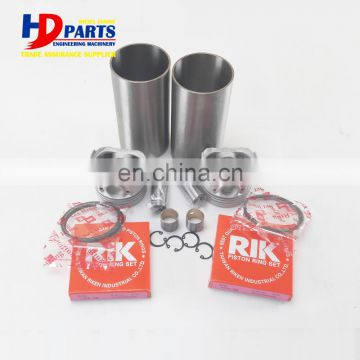 D722 Piston Cylinder Liner Kit For Kubota RG-20Y RG-20Y-2 Tracked Dumper Engine Parts