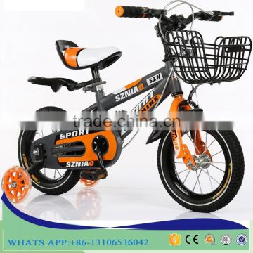 Adjustable height 12 14 16 18 inch children bicycle for 10 years old child