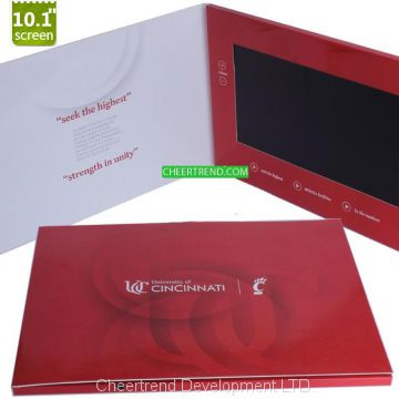 2.4″,4.3″,5.0″,7.0″and 10.1 Inch TFT Screen LCD Video Greeting Cards/video mailer/video brochure