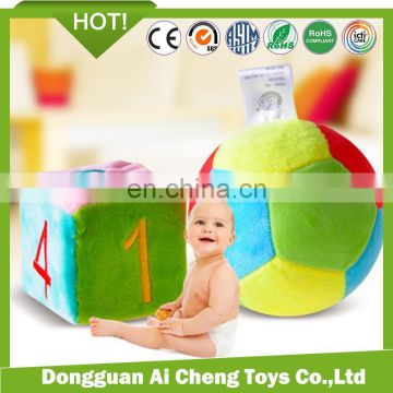 Free sample plush basketball toy for baby CE testing