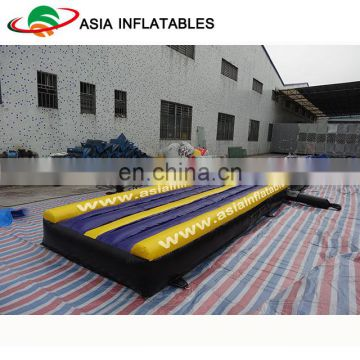 Gym inflatable air track mattress for sale outside playground