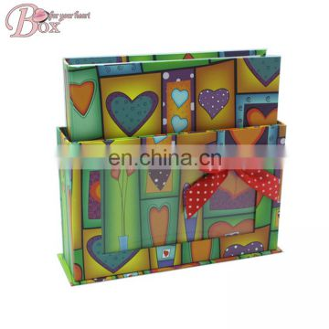 Colorful Decorative Paper Covered Photo Album
