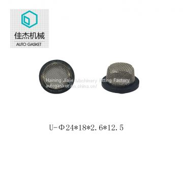 Haining Jiajie rubber&plastic wrapping filter mesh gasket