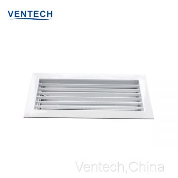 aluminum single deflection grille vent covers China supplier
