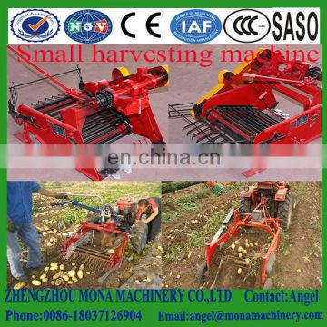 China Best Supplier Mini tractor used single-row cassava potato harvester machine for sale