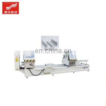 Double head cutting saw machine aluminum 2 angle /upvc /pvc profile glazing bead with factory direct sale price
