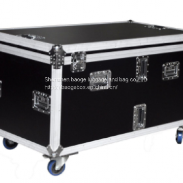 Sliver Aluminum Roadie Led Panel Wall Washer Cabine Tenor Sax Flight Case