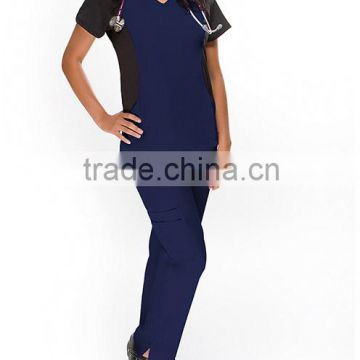 Fashion Basics Women's Flex Set Nurse Hospital Uniform/Medical Scrubs