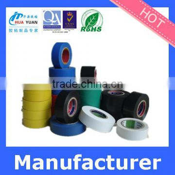 China flame-retardant electrical black PVC insulation tape for electric wire winding