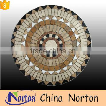 Classic Round countertopmarble waterjet medallion NTMS-MM023Y