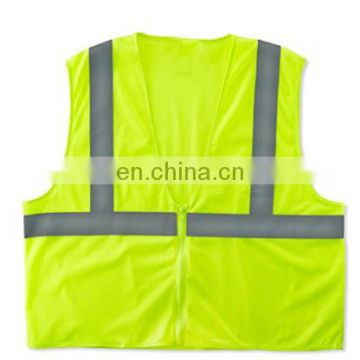 Hi Vis workwear reflective mesh vest with CE