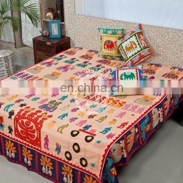 Top grade royal 100% cotton flower printed bedsheets king size bedding set custom want any size